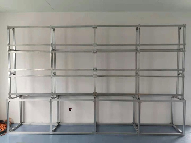 东莞某企业展厅建设项目安装现场