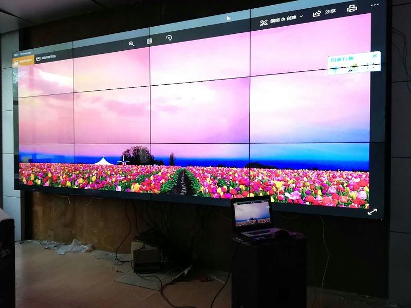 中亿睿49寸液晶拼接屏助力新疆乌鲁木齐某军区信息化建设
