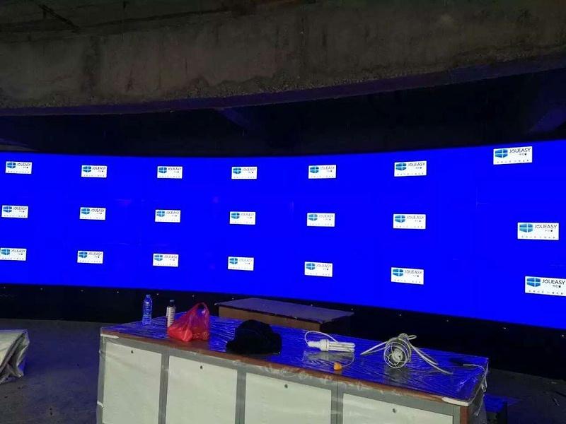 山西储蓄银行项目55寸液晶拼接屏
