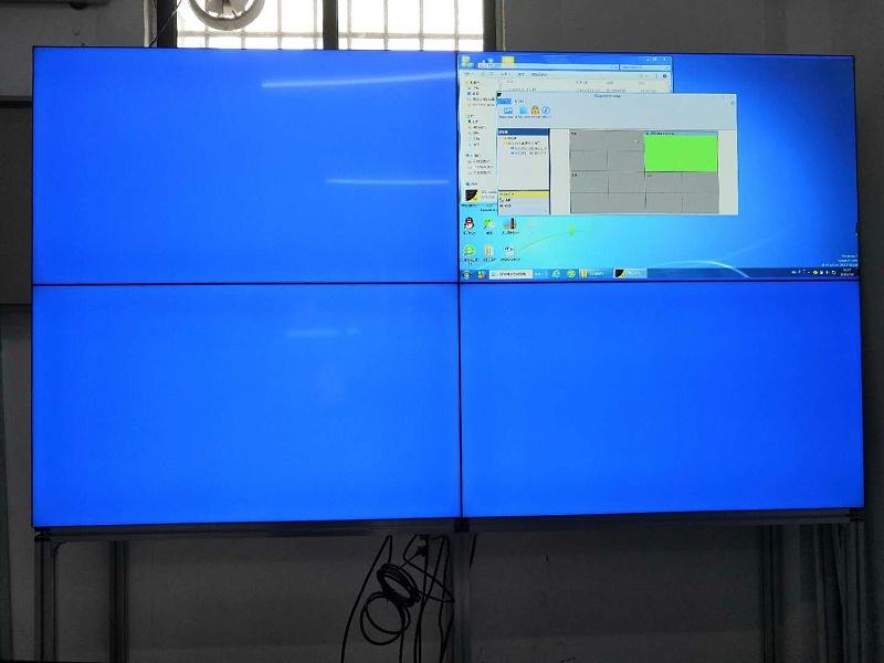 深圳液晶拼接屏院打造佛山白坭医院拼接显示系统