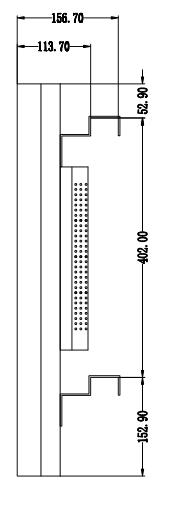 49寸3.5mm液晶拼接屏图纸