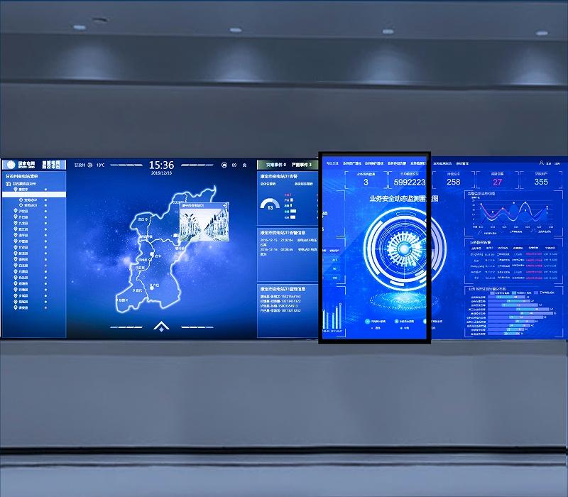 电动轨道滑轨电视打开数字时代互动展示新模式新启程