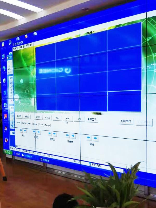 液晶大屏幕拼接在通信电力行业应用方案概述