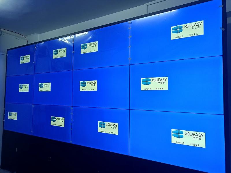 55寸液晶拼接屏入驻佛山师门中学会议室