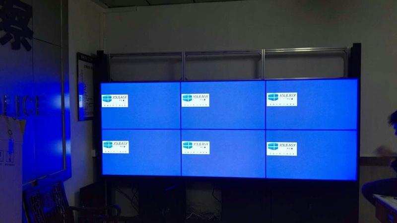 46寸液晶拼接屏效果图