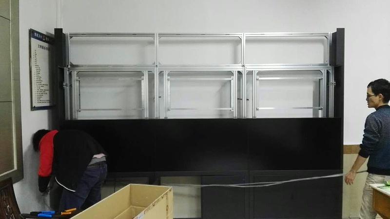 东莞液晶拼接屏安装效果