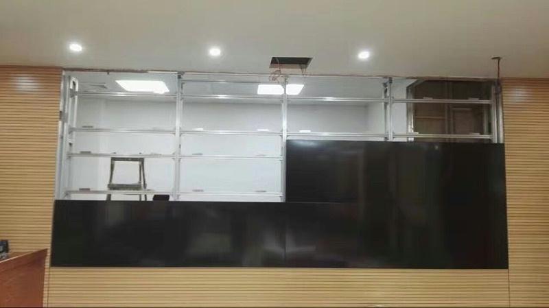 广东汕尾森林防火指挥监控中心55寸3X4拼接大屏
