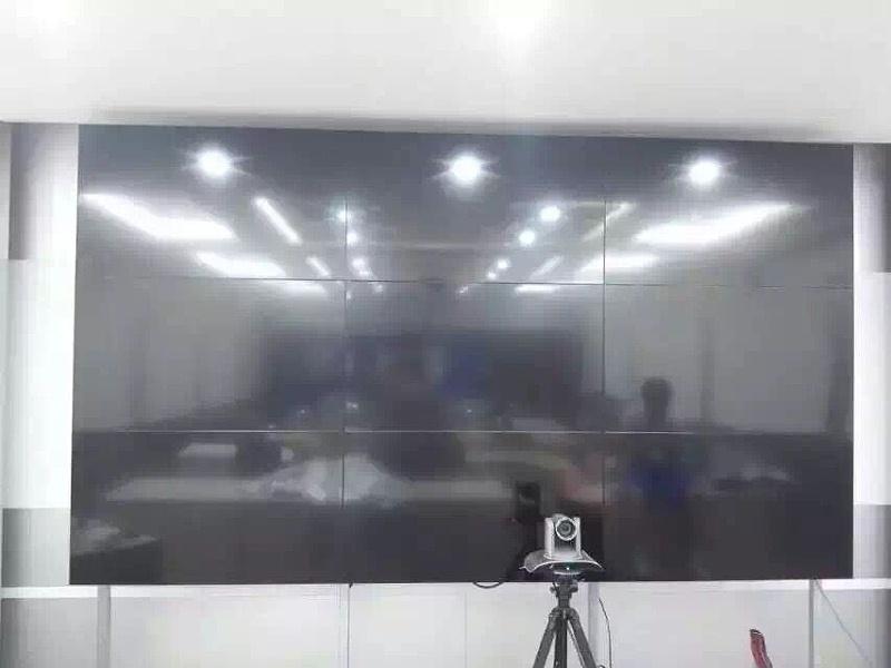 霍州市地税局46寸液晶拼接大屏幕3X3