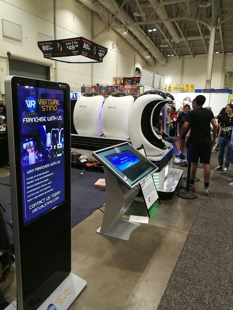 中亿睿触控一体机亮相加拿大CNE展会