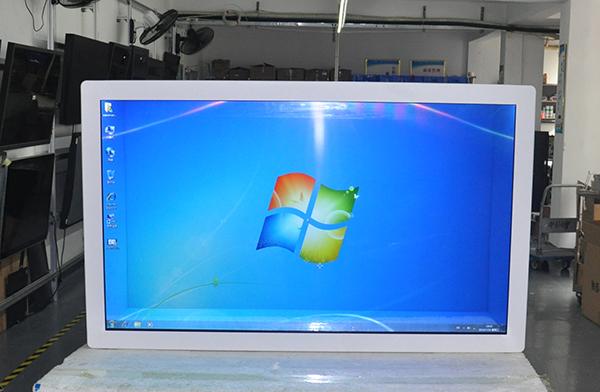 透明屏广告机