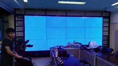 山西太原煤炭医院55寸液晶拼接屏1.8mm3X4单元拼接应用案例解析