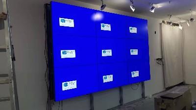中亿睿55寸液晶拼接屏品牌倾力打造深圳市众投邦股份公司智能化展示厅