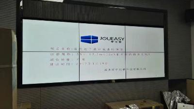 广东汕尾边了港口边防派出所智能化远程监控55寸液晶拼接屏显示系统