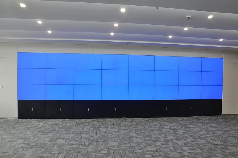 平安数据中心液晶拼接大屏展示