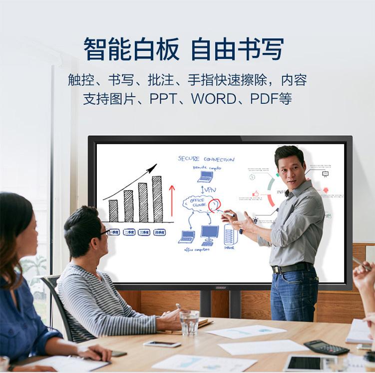 会议一体机:智neng白板,ziyou书xie