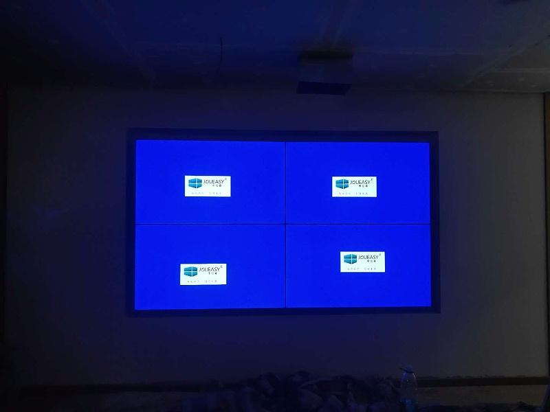 中亿睿液晶拼接屏为名悦琴行打造多功能信息展示系统平台