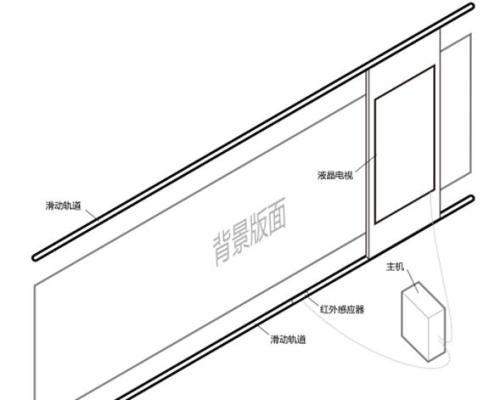 互动滑轨屏结构图