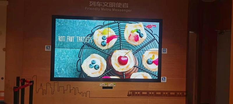 广州地铁博物馆项目安装效果