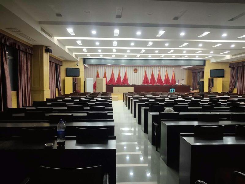 广东揭阳普宁法院现场图