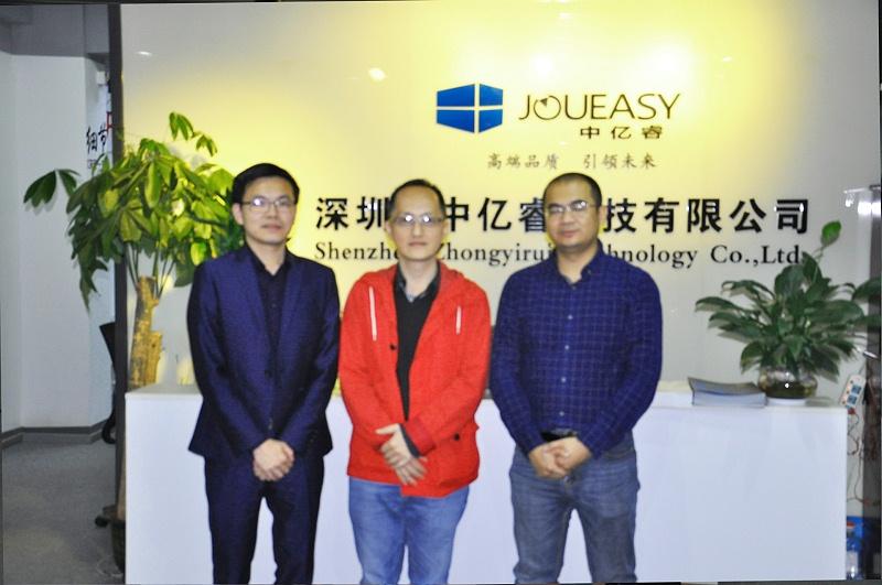 聚力赋能,欢迎深圳市工程师协会一行莅临中亿睿参观考察