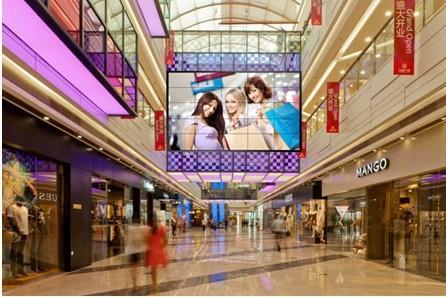 商场液晶拼接屏应用