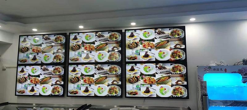 """中亿睿广告机为深圳诗迈儿花园酒家餐饮业赋能,让精彩已在""""吃""""之外"""