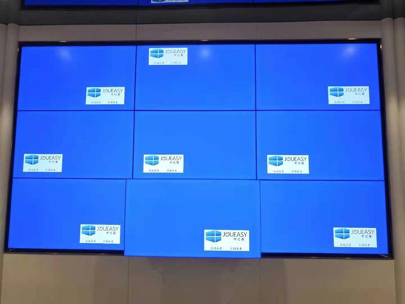 东莞天麟·天悦46寸液晶拼接屏售楼中心大屏解决方案