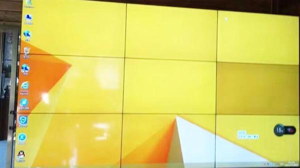 液晶拼接屏在四大行业里的应用!
