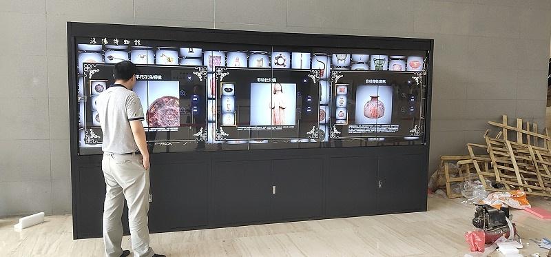 """365体育直bo55cuncun液晶拼接屏系统助力河南洛阳博物馆""""河洛文明展"""""""