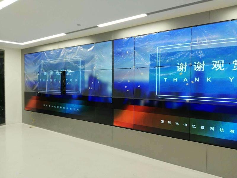 北京医疗大屏拼接效果图
