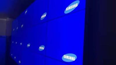中亿睿液晶拼接屏应用于广州寺右万科售楼展厅中心