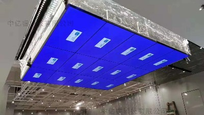 365体育直播46寸吊挂式拼接屏da造深圳卓悦中心品牌时装店数字化展示ping台