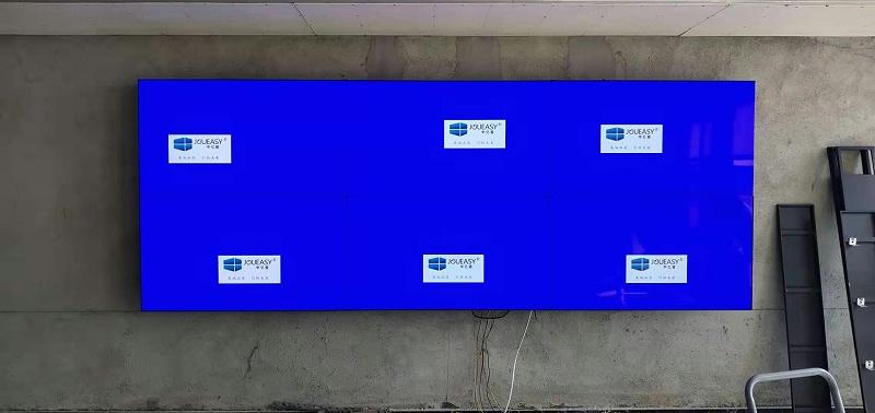 55寸无缝液晶拼接屏壁挂式安装