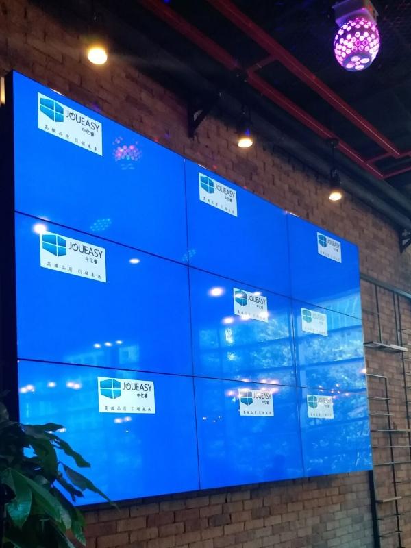 酒吧酒楼酒店KTV商场娱乐产所液晶拼接屏解决方案