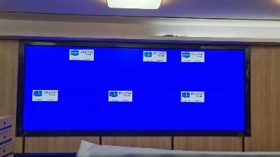 中亿睿拼接屏助力揭阳市公安办公室建设智能化安防系统项目顺利竣工