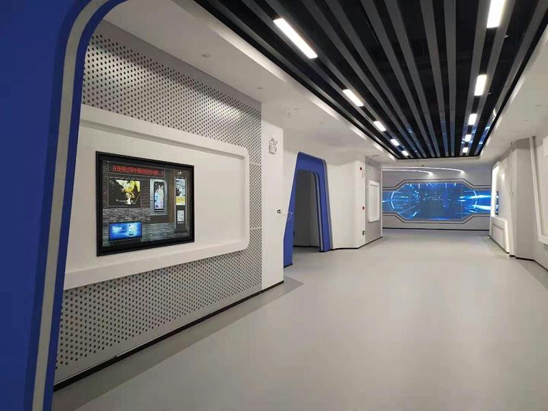 安车车检展厅整体效果展示图