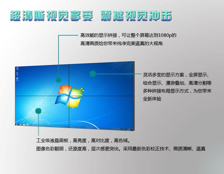 液晶拼接屏结构图功能展示