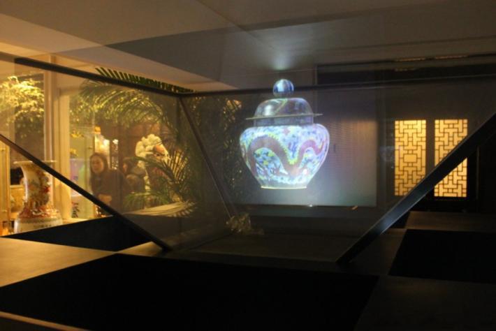 展示展览3D全息展示柜