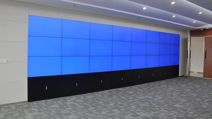 深圳平安数据控制中心项目采购中亿睿46寸1.8mm3x8单元