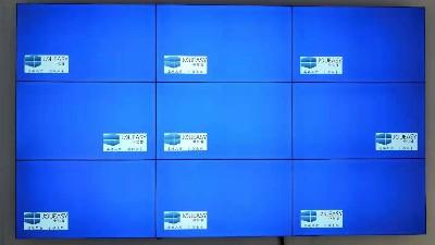 中亿睿9台拼接屏助力常州湖滨花园商业街打造数字化宣传展示系统平台