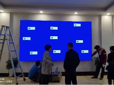 中亿睿液晶拼接屏助力四川越西县融媒体中心的打造智慧终端显示平台
