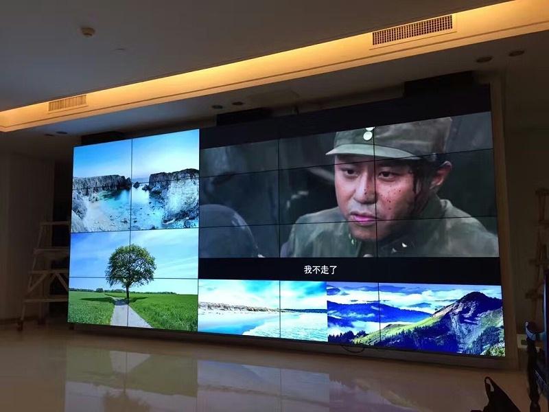 北京电影公司三星55寸液晶拼接屏