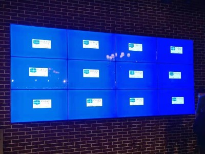 中亿睿4K高清拼接屏应用于广东东莞某音频店建设