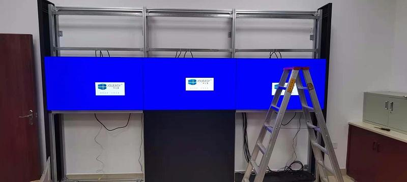 中亿睿液晶拼接屏助力于佛山交通执法局建设可视化系统项目顺利竣工