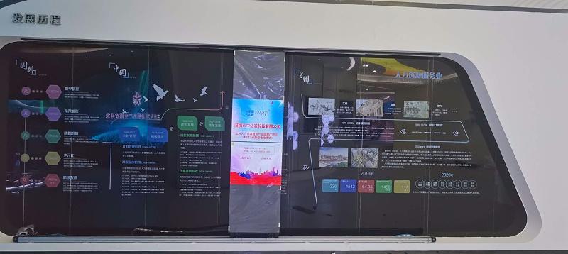 中亿睿液晶屏、智能滑轨助力兰州人力资源产业园打造创意科技化数字展厅