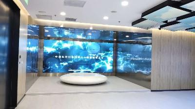中亿睿液晶拼接屏助力大连华信打造一个综合样式、新技术的展览展厅