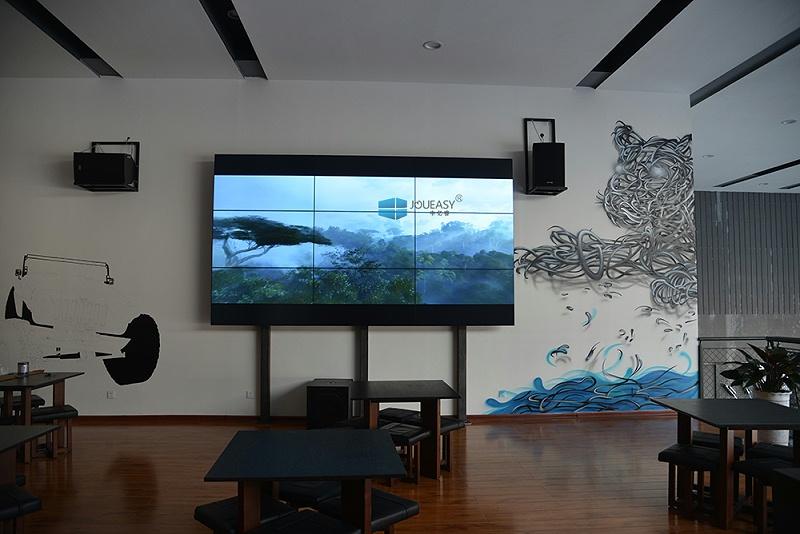 宁夏吉普4S店液晶拼接屏55寸应用