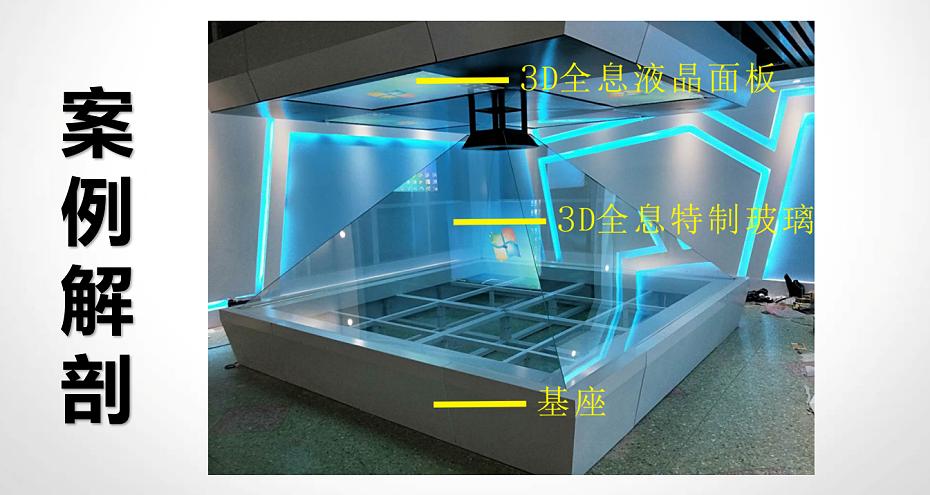 3D全息展示柜案例解析