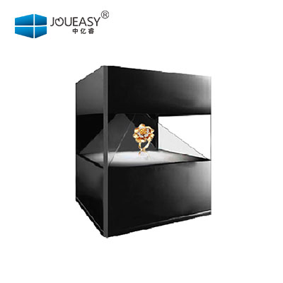 JOUEASY/365体yu直播3D全息展示柜广告机