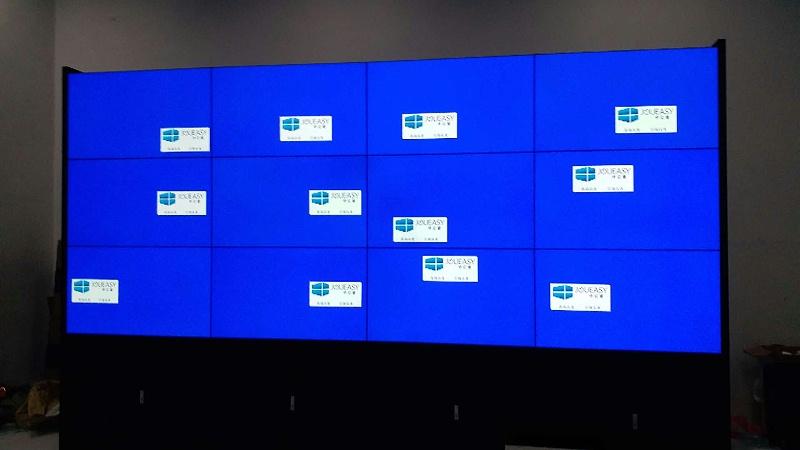 中亿睿液晶拼接屏助力佛山万科售楼中心打造可视化系统